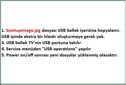 Boot-Up-Logo-Yukleme-7 VESTEL, 17MB8X, YAZILIM, YÜKLEME, TALİMATI, MAİNBOARD, ANAKART, ŞASE