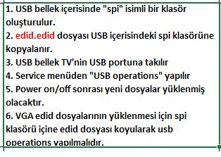 EDID-Dosyasi-Yukleme-1 VESTEL, 17MB140, YAZILIM, YÜKLEME, TALİMATI, MAİNBOARD, ANAKART, ŞASE