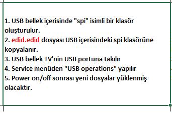 EDID-Dosyasi-Yukleme-3 VESTEL, 17MB120, YAZILIM, YÜKLEME, TALİMATI, MAİNBOARD, ANAKART, ŞASE