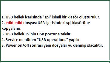 EDID-Dosyasi-Yukleme-4 VESTEL, 17MB100, YAZILIM, YÜKLEME, TALİMATI, MAİNBOARD, ANAKART, ŞASE