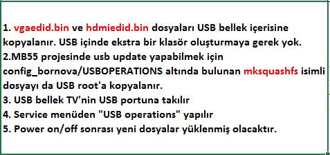 EDID-Dosyasi-Yukleme-6 VESTEL, 17MB55, YAZILIM, YÜKLEME, TALİMATI, MAİNBOARD, ANAKART, ŞASE