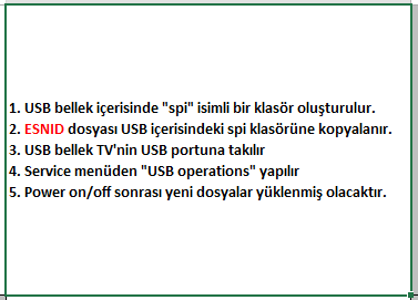 ESNID-Yukleme-4 VESTEL, 17MB100, YAZILIM, YÜKLEME, TALİMATI, MAİNBOARD, ANAKART, ŞASE