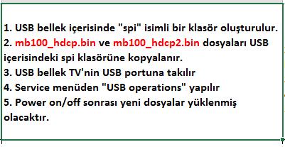 HDCP-Key-Yukleme-3 VESTEL, 17MB100, YAZILIM, YÜKLEME, TALİMATI, MAİNBOARD, ANAKART, ŞASE
