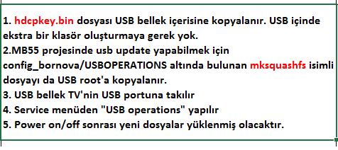 HDCP-Key-Yukleme-5 VESTEL, 17MB55, YAZILIM, YÜKLEME, TALİMATI, MAİNBOARD, ANAKART, ŞASE