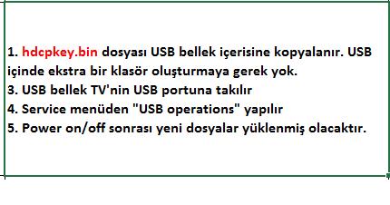 HDCP-Key-Yukleme-7 VESTEL, 17MB8X, YAZILIM, YÜKLEME, TALİMATI, MAİNBOARD, ANAKART, ŞASE