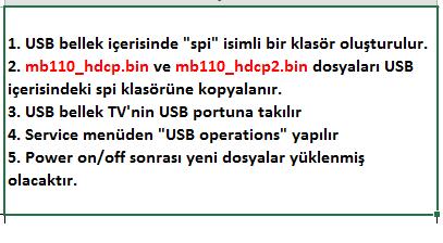 HDCP-Key-Yukleme-9 VESTEL, 17MB110, YAZILIM, YÜKLEME, TALİMATI, MAİNBOARD, ANAKART, ŞASE