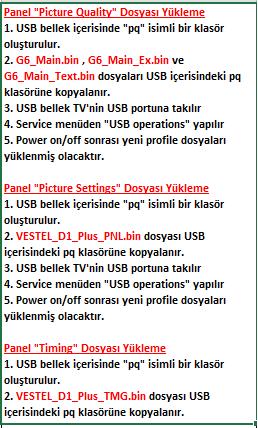 PANEL-DOSYALARINI-YUKLEME-1 VESTEL, 17MB130, YAZILIM, YÜKLEME, TALİMATI, MAİNBOARD, ANAKART, ŞASE