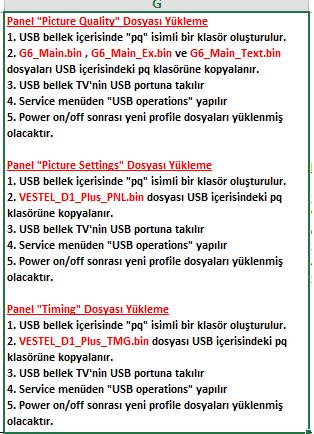 Panel-Dosyalarini-Yukleme-3 VESTEL, 17MB100, YAZILIM, YÜKLEME, TALİMATI, MAİNBOARD, ANAKART, ŞASE