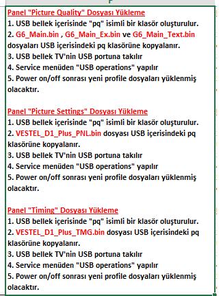 Panel-Dosyalarini-Yukleme-9 VESTEL, 17MB110, YAZILIM, YÜKLEME, TALİMATI, MAİNBOARD, ANAKART, ŞASE