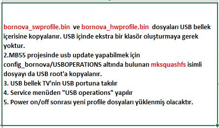 Profile-Update-4 VESTEL, 17MB55, YAZILIM, YÜKLEME, TALİMATI, MAİNBOARD, ANAKART, ŞASE
