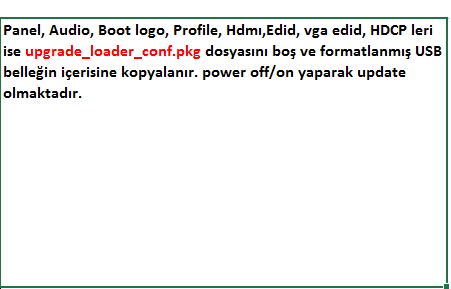 Profile-Update VESTEL, 17MB300, YAZILIM, YÜKLEME, TALİMATI, MAİNBOARD, ANAKART, ŞASE